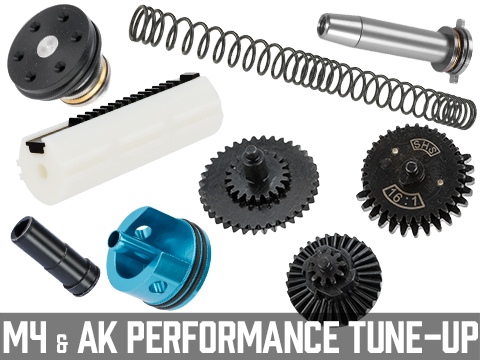 EMG Performance Upgrade Tune-Up Kits for AEG Gearboxes