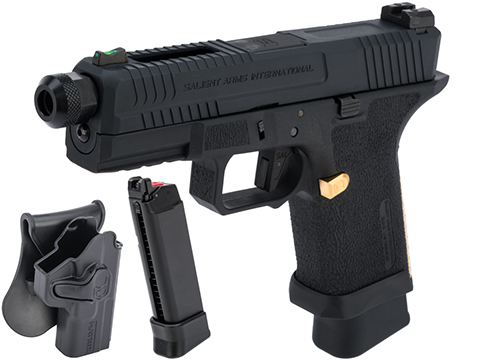 EMG Salient Arms International BLU Compact Airsoft Training Weapon (Type: CO2 Mag / Carry Package)