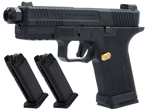 EMG Salient Arms International BLU Compact Airsoft Training Weapon (Type: Green Gas Mag / Reload Package)