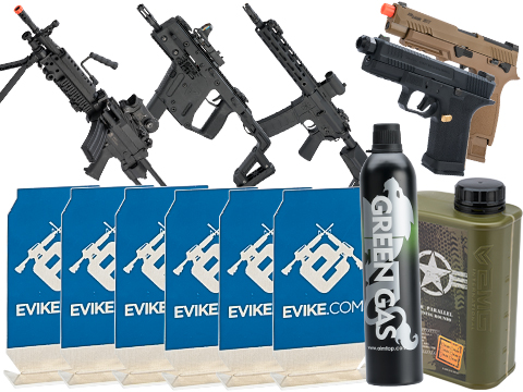 Evike.com Stay at Home Weapon Training / Target Shooting Airsoft Pack