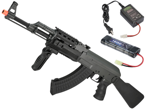 CYMA Standard Full Metal Tactical AK47 Airsoft AEG Rifle w/ Composite Furniture