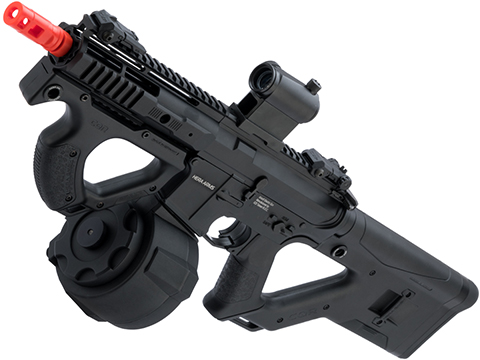 ASG Hera Arms Licensed CQR M4 Airsoft AEG by ICS (Model: Black / Firestorm Drum Package)
