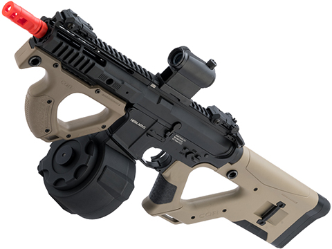 ASG Hera Arms Licensed CQR M4 Airsoft AEG by ICS (Model: Tan / Firestorm Drum Package)