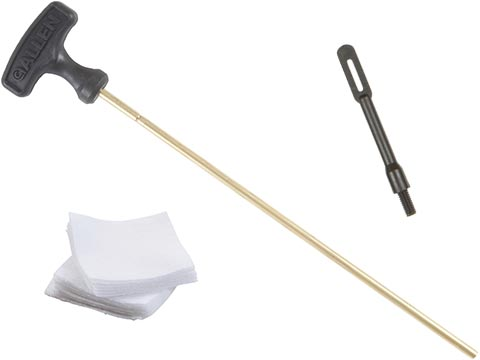 Allen Company Heavy Duty Brass Cleaning Rod for Airsoft Guns and Firearms  (Package: 10 Cleaning Kit)