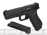 Pre-Order Estimated Arrival: 02/2015 --- APS ACP Full Metal CO2 Powered Airsoft GBB Gas Blowback Pistol with Extra Magazine