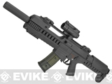GSG Tactical G14 Carbine Electric Blowback AEG by SoftAir - Black (Package: Rifle Only)