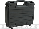 Plano SE Series™ Four Pistol and Accessory Dual-Tier Clam Shell Padded Case - Black