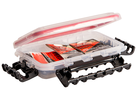 Plano Waterproof Stowaway® Clear Storage Utility Divided Box (Model: 3400 / Single Compartment)