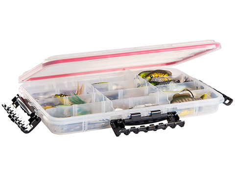 Plano Waterproof Stowaway® Clear Storage Utility Divided Box (Model: 3700 / 4 to 23 Compartments)