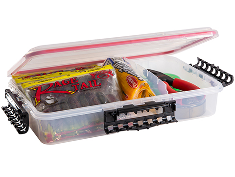 Plano Waterproof Stowaway� Clear Storage Utility Divided Box (Model: 3700 / 1 to 3 Compartments)