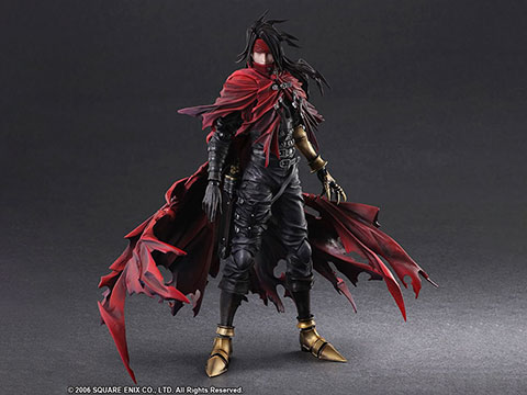 Good Smile Company Final Fantasy VII: Dirge of Cerberus Play Arts Kai Vincent Valentine PVC Action Figure
