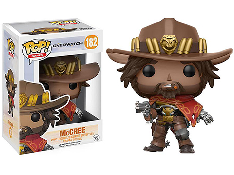 Funko POP! Overwatch Vinyl Figure (Model: McCree)
