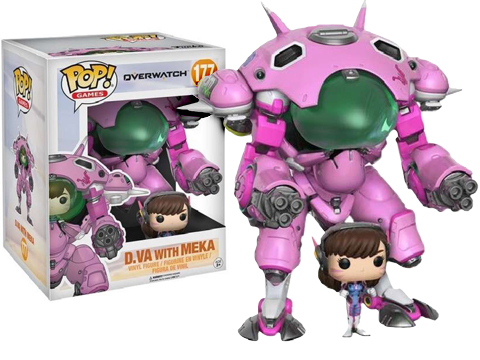 Funko POP! Overwatch D.VA Vinyl Figure with Meka Vehicle
