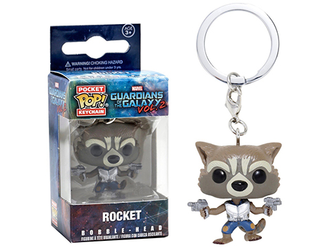 Guardians of the Galaxy Vol. 2 Rocket Raccoon Pocket Pop! Key Chain