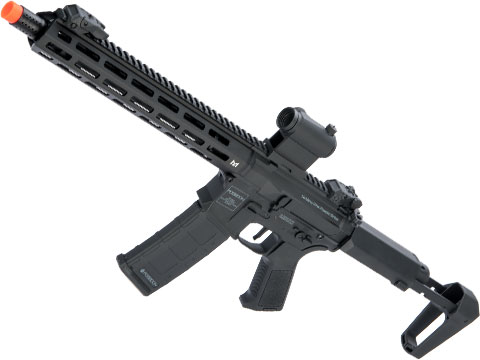 Poseidon Punisher M4-Styled Airsoft AEG Rifle w/ M-LOK Handguard (Model: Black / 14 Rail)