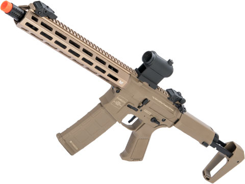 Poseidon Punisher M4-Styled Airsoft AEG Rifle w/ M-LOK Handguard (Model: Tan / 14 Rail)