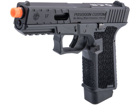 Poseidon Custom Cerakote P80 EVO 2 Gas Blowback Airsoft Pistol