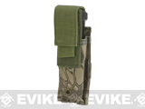 Matrix MOLLE Pistol Magazine Pouch (Color: Woodland Serpent)
