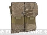Matrix MOLLE Double M4/M16 Magazine Pouch - Dark Arid Serpent