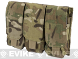 Triple M4 / G36 MOLLE Ready Magazine Pouch by Condor / Phantom - Multicam