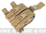 Condor Tactical Drop Leg M4 Magazine Pouch - Tan