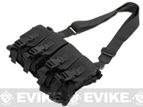 Gryffon Tactical USMC Low Profile Operator Quad Magazine Rig - Black