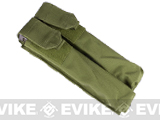 Dual Magazine Pouch for Airsoft P90 (Color: OD Green)