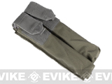 Dual Magazine Pouch for Airsoft P90 (Color: Ranger Green)