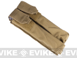 Dual Magazine Pouch for Airsoft P90 - (Tan)