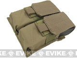 Phantom Gear Modular MOLLE Ready Tactical Double M4 M16 Magazine Pouch (Color: Tan)