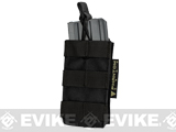 Single M4/M16 Open Top MOLLE System Ready Mag Pouch - Black
