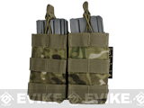 MOLLE Pouches - Tactical Open Top Dual AR / M4 / M16 Mag Pouch - Multicam