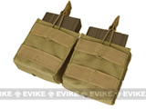 Condor Double M-14 / G3 / SCAR-H Open Top Dual Magazine Pouch - Tan