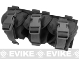Phantom Gear Triple Frag Grenade MOLLE Ready Pouch - Black