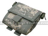 Black Owl Gear / Phantom Gear MOLLE Roll-Up Utility / Dump Pouch (Color: ACU)