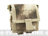 Roll-Up / Foldable Tactical MOLLE Utility Dump Pouch - A-TACS