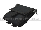 Roll-Up / Foldable Tactical MOLLE Utility Dump Pouch by Phantom / Condor - Black