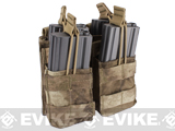 Condor MOLLE Double Stacker M4 Magazine Pouch - ATACS