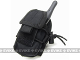 MOLLE Multi-Purpose Handheld FRS Radio MOLLE Pouch - Black