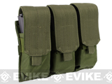 Triple M4 / G36 MOLLE Ready Magazine Pouch by Condor / Phantom - OD Green