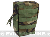 Phantom Gear 9 Large MOLLE Ready Utility / EMT Pouch - (Color: Woodland Camo)