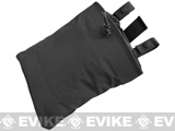 <b>Phantom High Speed Belt / MOLLE Magazine Dump Pouch (Foldable) - Black</b>