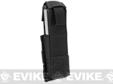 Phantom Gear MOLLE Hard Shell Quick Draw Pistol Magazine Pouch (Color: Black)