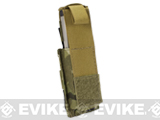 Phantom Gear MOLLE Hard Shell Quick Draw Pistol Magazine Pouch - Multicam