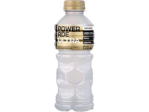Powerade Ultra Electrolyte Sports Drink 20oz Bottle (Flavor: White Cherry Bottles)