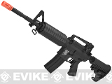 APS Kompetitor Electric Blowback M4 Carbine Airsoft AEG Rifle (Black)