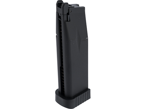 KJW 31 Round Xcelerator Magazine for Hi-Capa Gas Blowback Airsoft Pistols (Type: Green Gas)