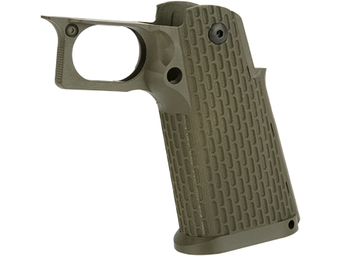 KJW Polymer Hi-Capa Pistol Grip with Integrated Trigger Guard (Color: OD Green)