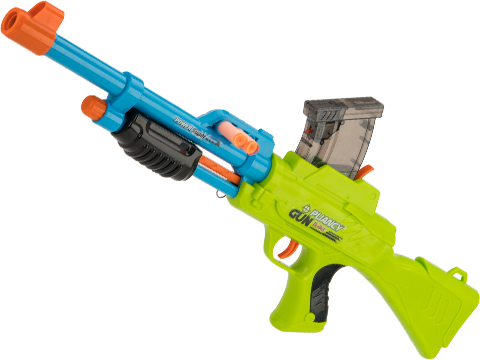 2 in 1 Dart and Gel Ball Blaster Pliancy Pump Action Sniper Rifle
