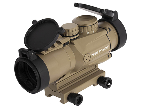 Primary Arms Silver Series Gen II 3x32 Compact Prism Scope with the Patented ACSS-CQB 5.56, 300BLK, 5.45x39, .308 Reticle (Color: Flat Dark Earth)